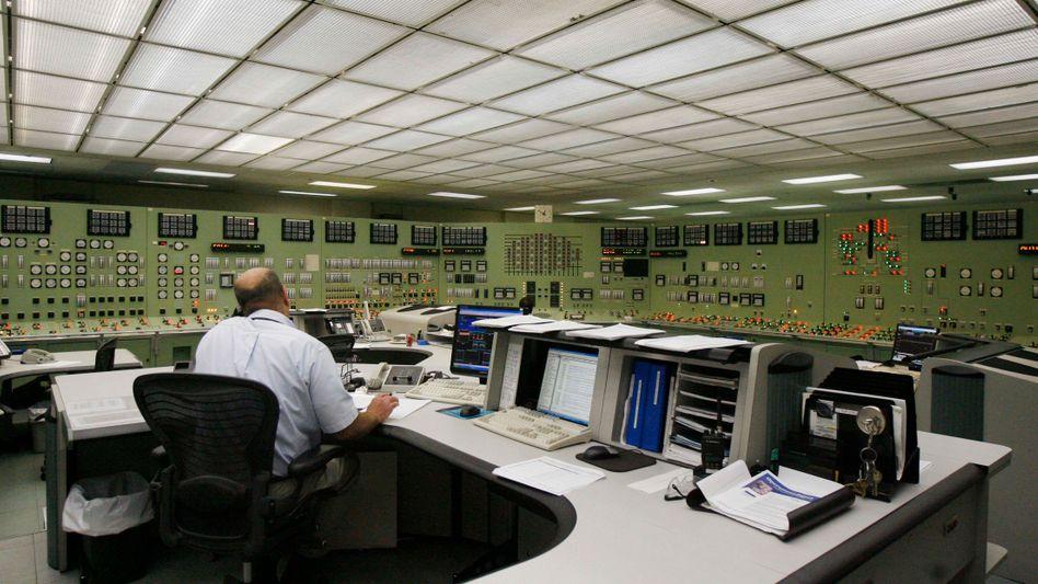 Kontrollraum des Kraftwerks Vermont Yankee (2009): Probleme mit Cäsium und Tritium