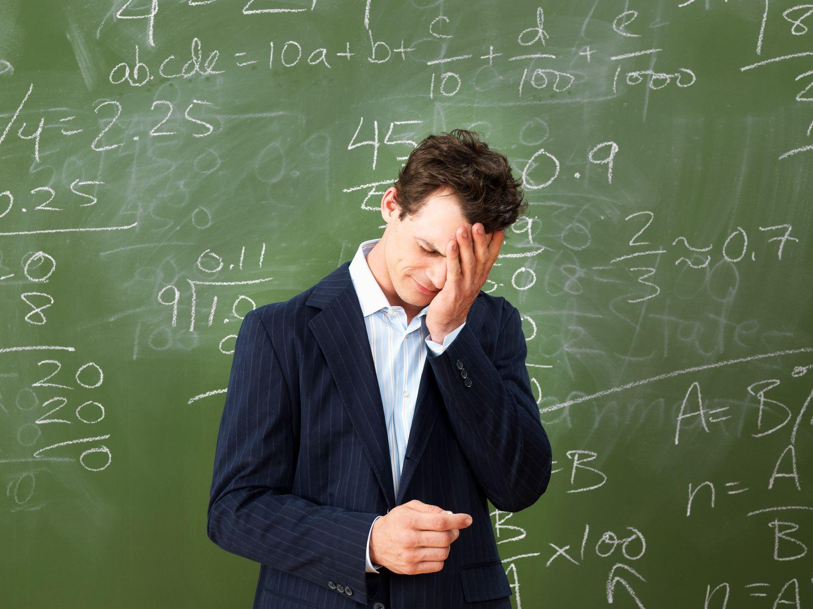 NICHT MEHR VERWENDEN! - Lehrer / Stress /