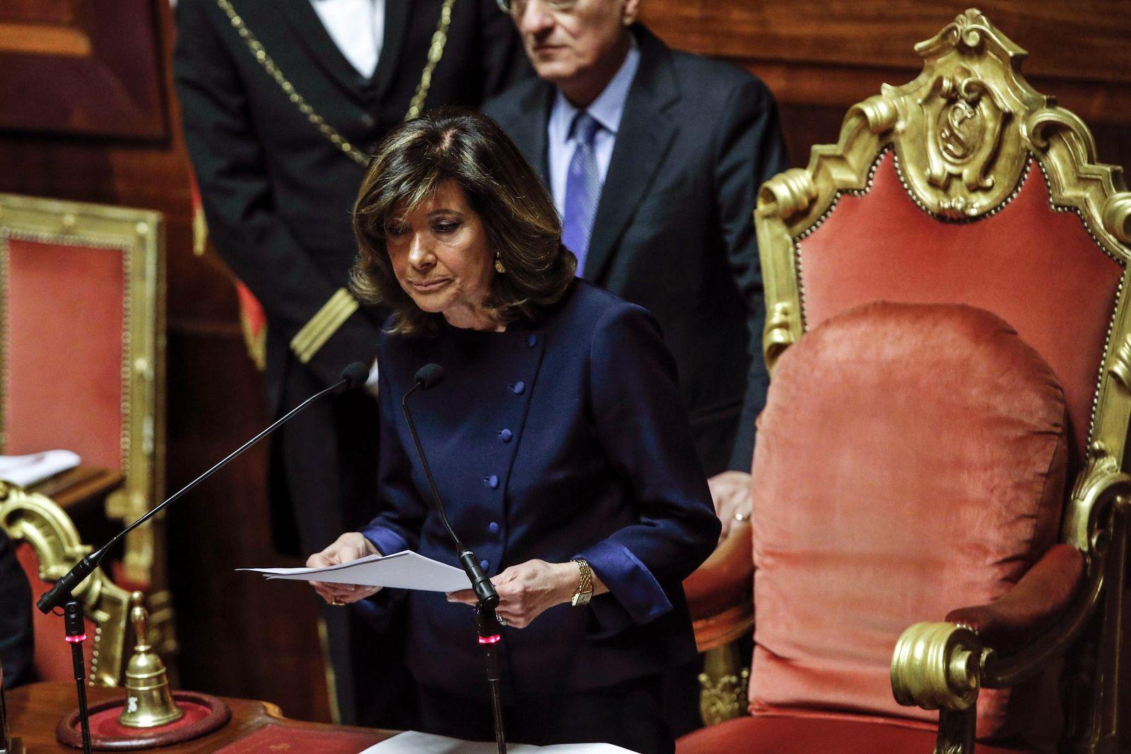 Wahl des Präsidenten des italienischen Senats