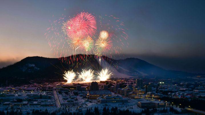 Neue Stadt in Nordkorea: Kims Skiressort