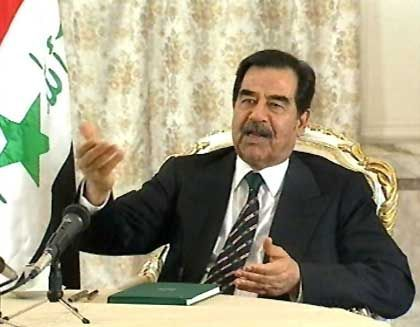 Saddam Hussein: Mit einer Milliarde auf der Flucht?