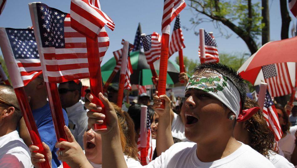 Einwanderer-Demo in Phoenix, Arizona (2010): Alabama regelt Migration noch rigider