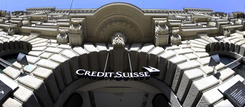 Credit-Suisse-Zentrale in Zürich: Fluchtburg für deutsche Steuersünder