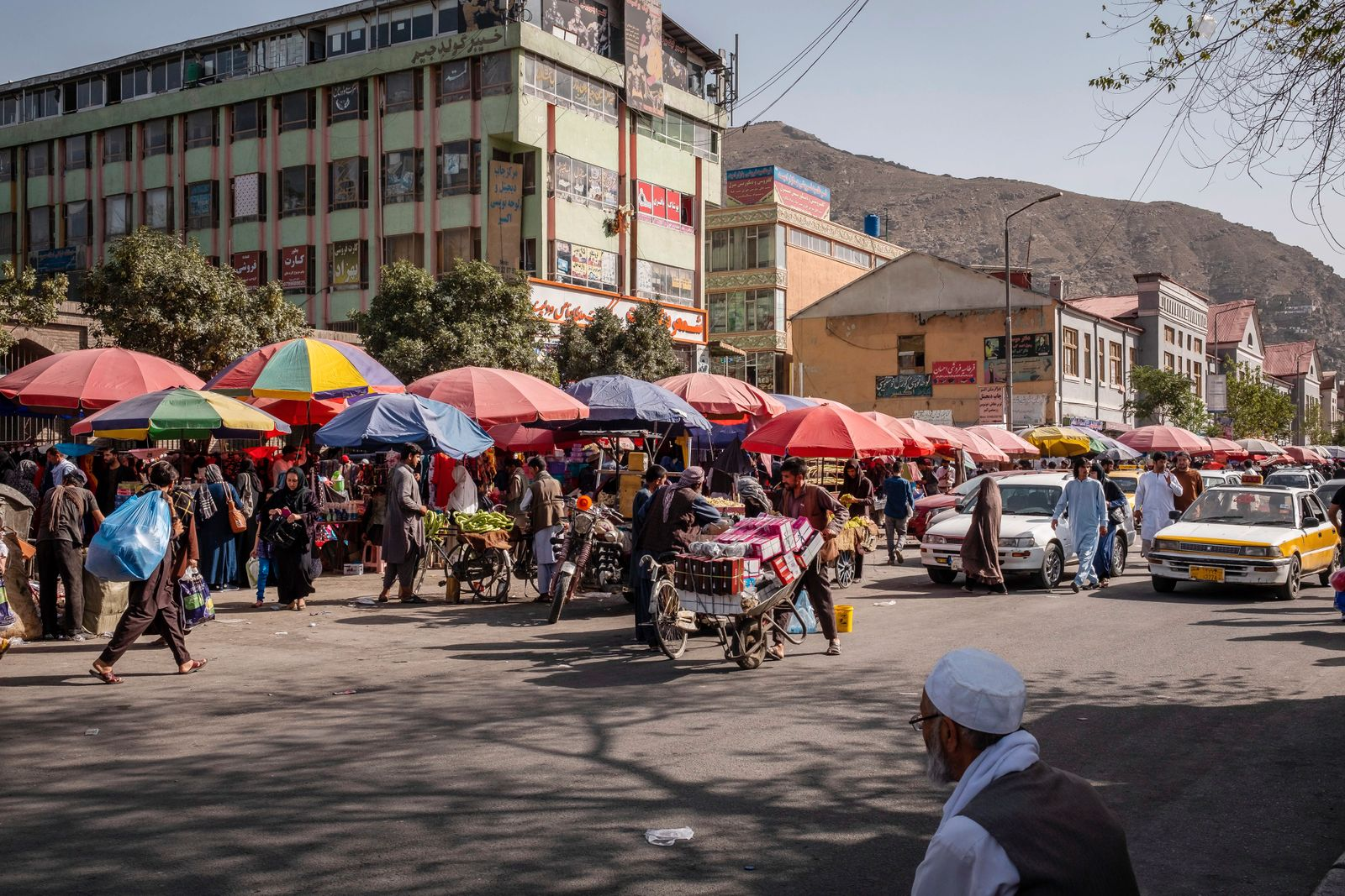 Daily Life in the Commercial Heart of Kabul