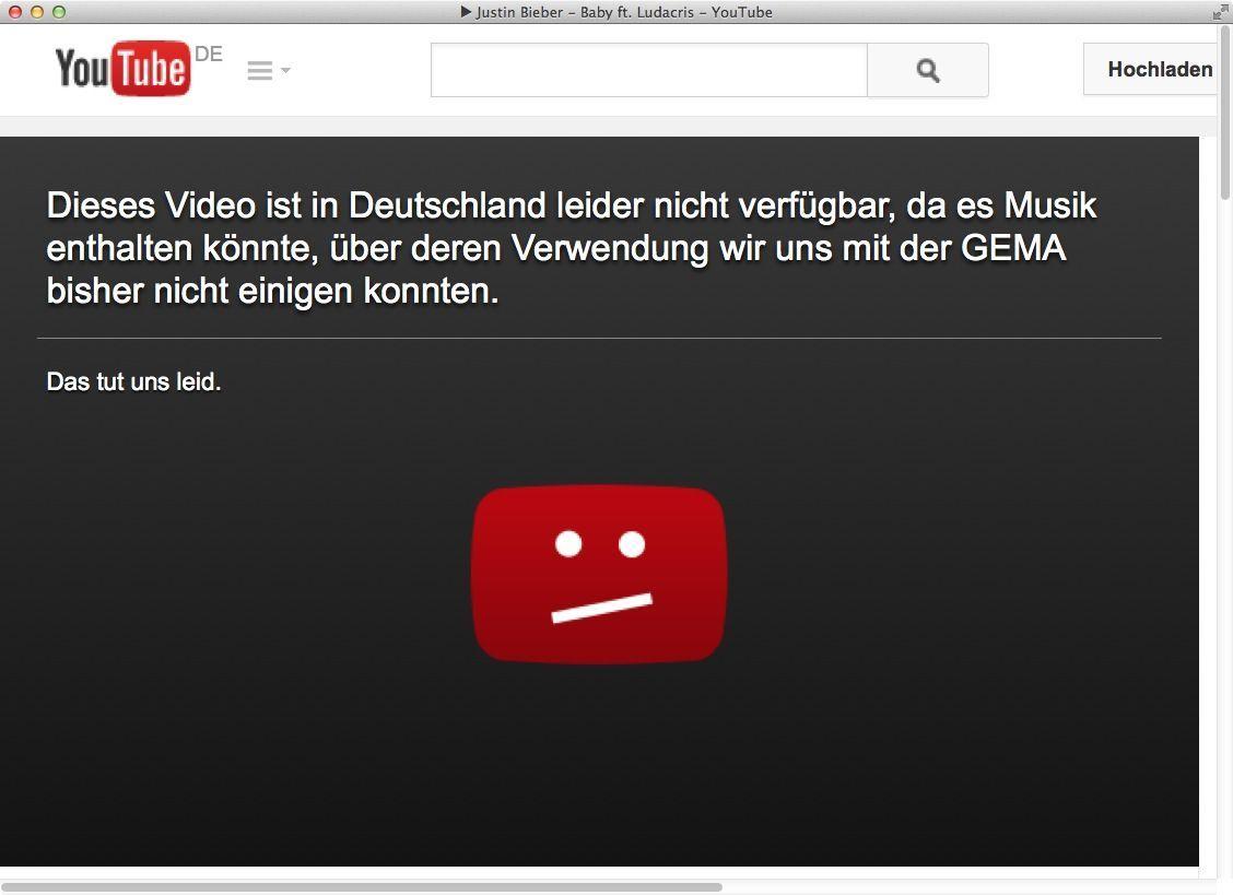 NUR ALS ZITAT Screenshot YouTube/ Sperrbild
