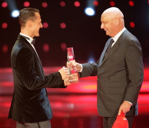 Darum geht es: Trophäe für den Deutschen Fernsehpreis