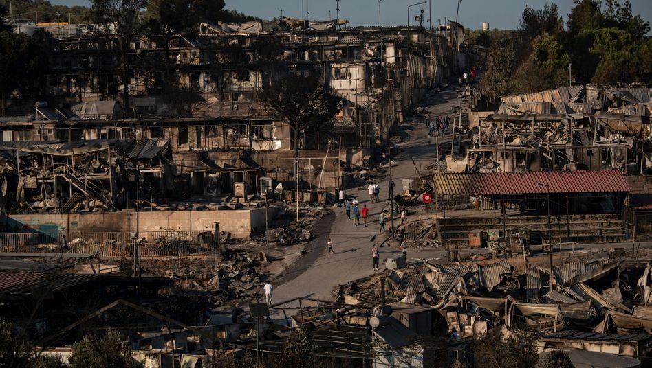 Flüchtlingslager Moria nach dem Großbrand: Desaster mit Ansage