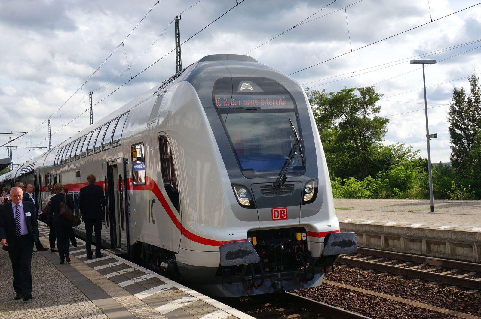 Neuer Intercity-Zug vorgestellt