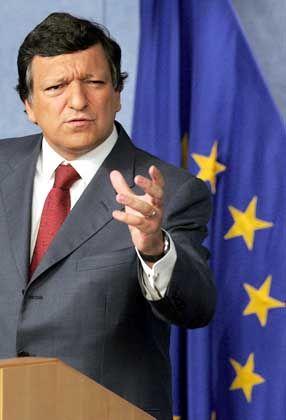 Jose Manuel Barroso: Der neue EU-Kommissionpräsident benannte seine 24 Kollegen