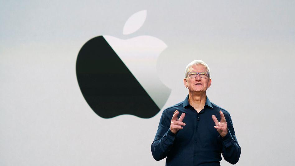 Apple-Chef Cook: Seit neun Jahren an der Spitze des Konzerns - und jetzt Milliardär