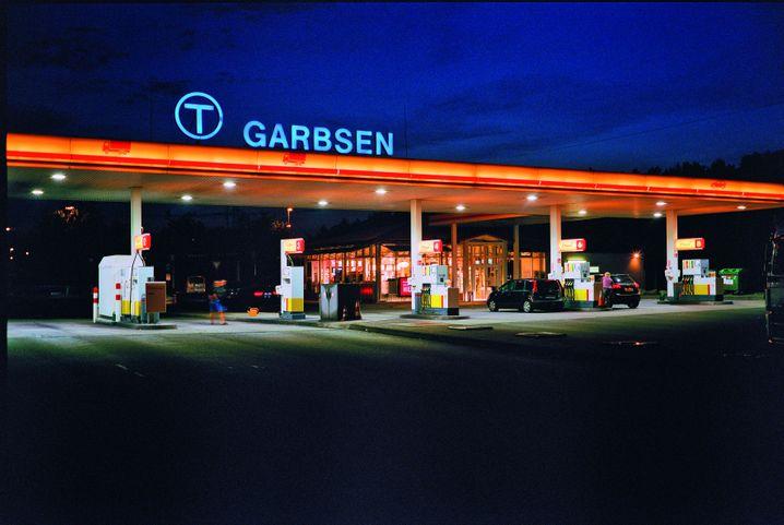 Tankstelle an der Autobahnraststätte Garbsen Nord