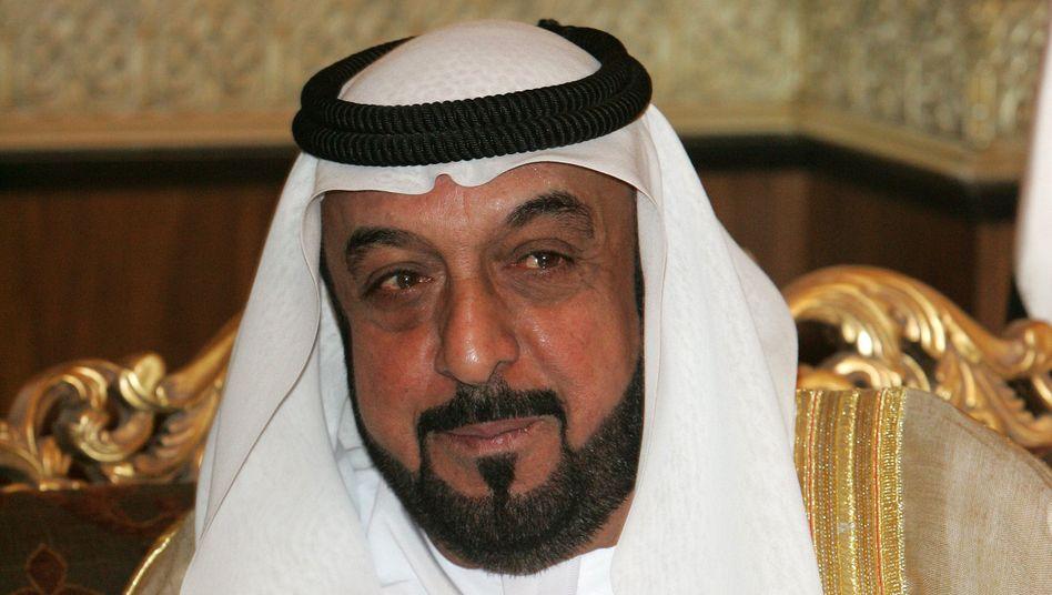 Scheich Khalifa bin Zayed Al Nahyan (Archivbild)
