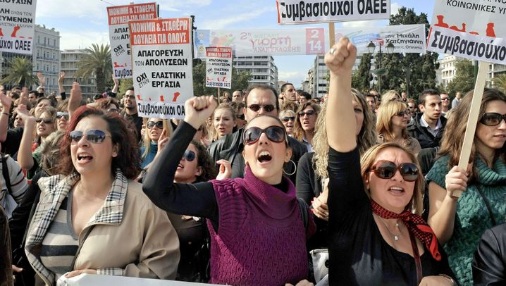 Photo Gallery: Greece 'Must and Will Make It'