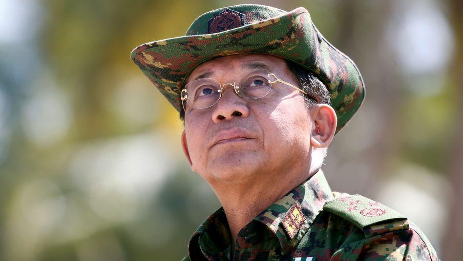 Myanmars Juntachef Min Aung Hlaing