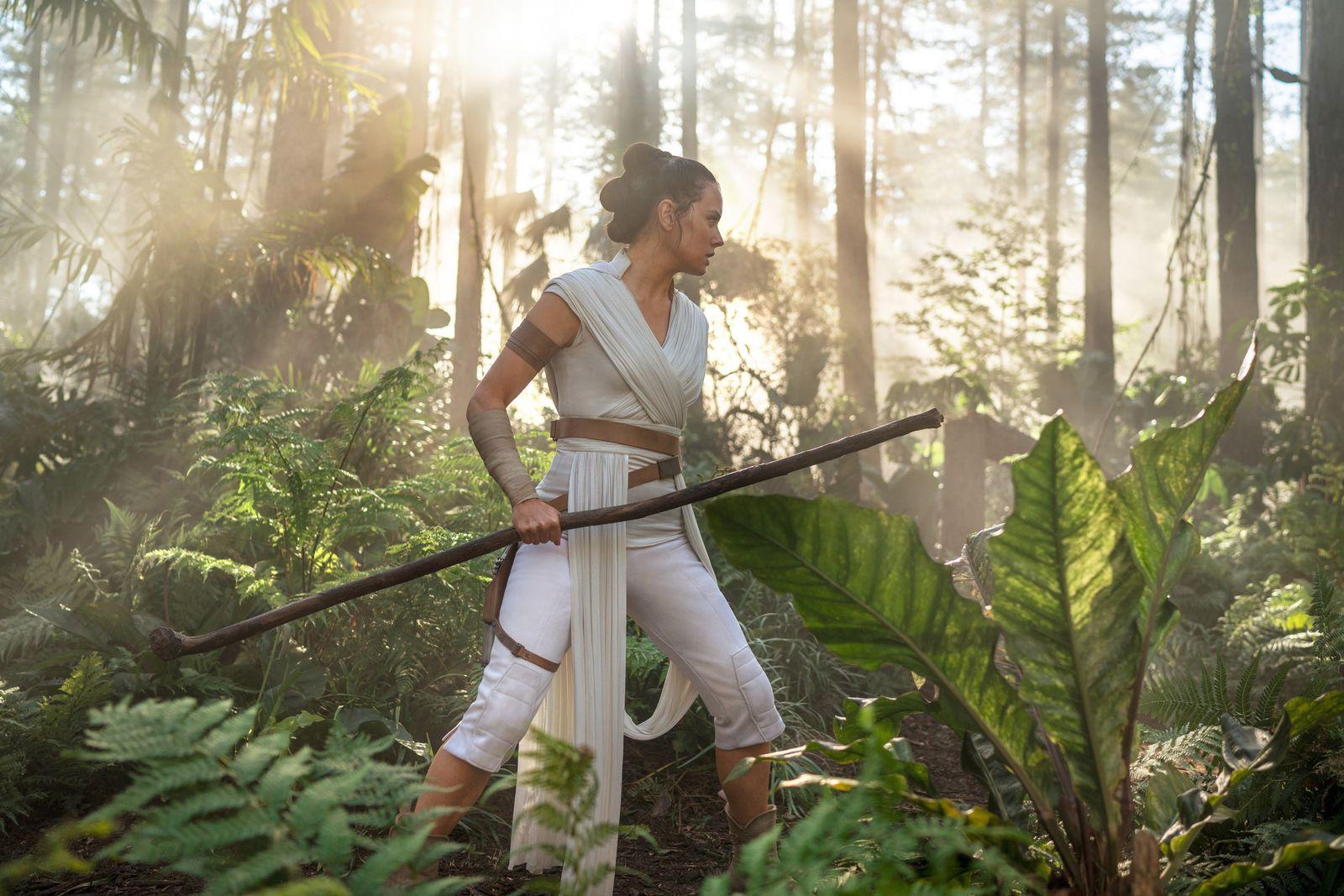 EINMALIGE VERWENDUNG Daisy Ridley/ Star Wars