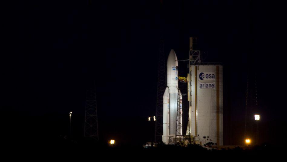 """""""Ariane""""-Rakete mit """"Johannes Kepler"""" an Bord vor dem Start: """"Ereignis des Jahres"""""""