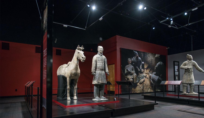 EINMALIGE VERWENDUNG Terracotta Warriors of the First Emperor