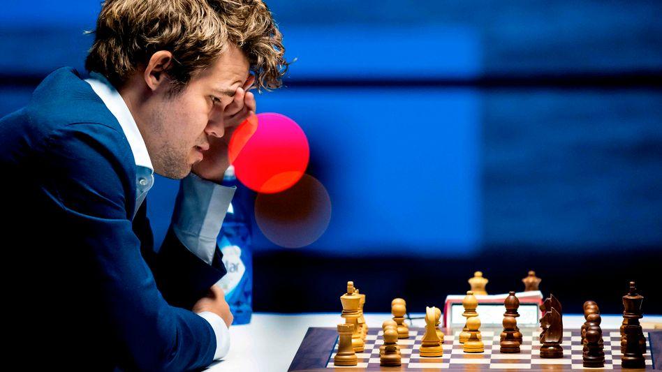 Schach-Weltmeister Carlsen: »Es war ziemlich schlecht«