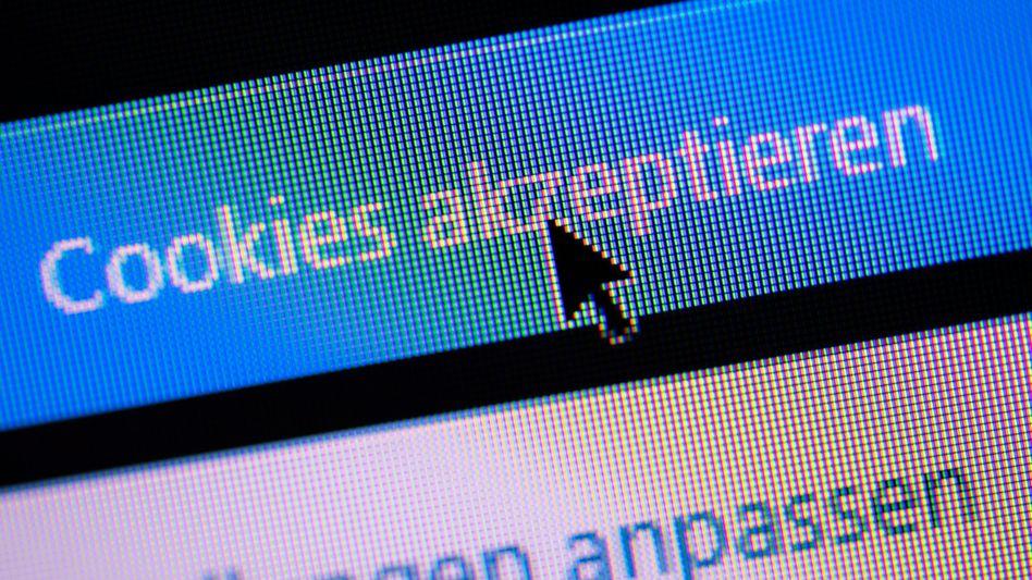 Zu oft nicht regelkonform, sagt der Verbraucherzentrale Bundesverband: Cookie-Abfrage einer Website