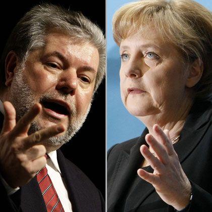 """Beck, Merkel: """"Vielleicht noch ein bisschen ordentlich zusammenarbeiten"""""""