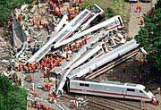 Bei der Katastrophe von Eschede kamen 101 Menschen ums Leben