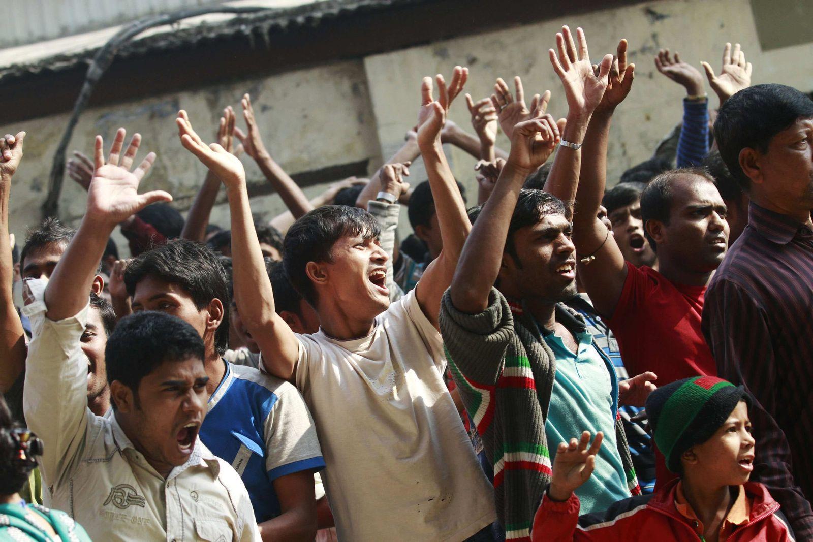 Bangladesch / Proteste