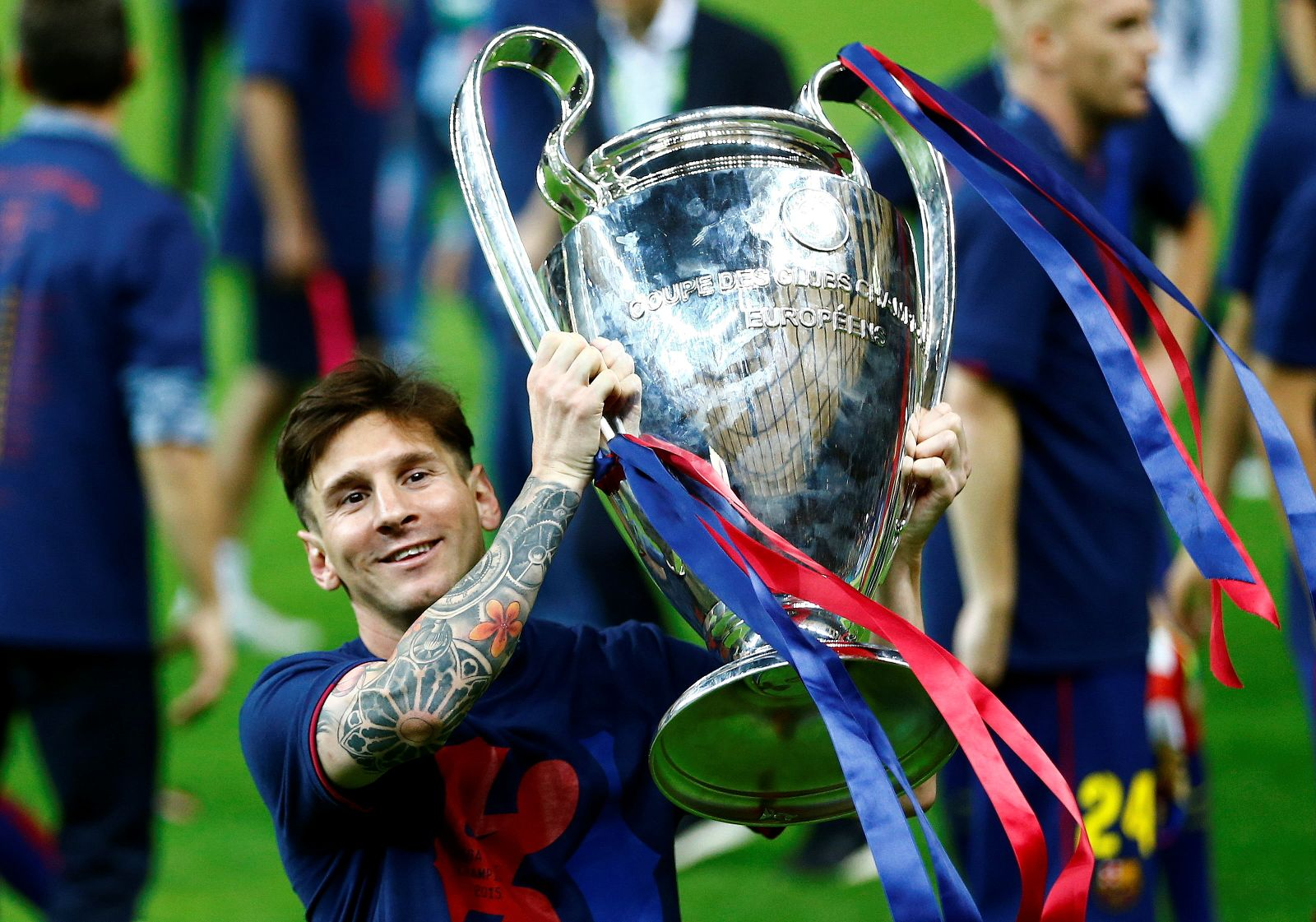 FILE PHOTO: FC Barcelona v Juventus - UEFA Champions League Final