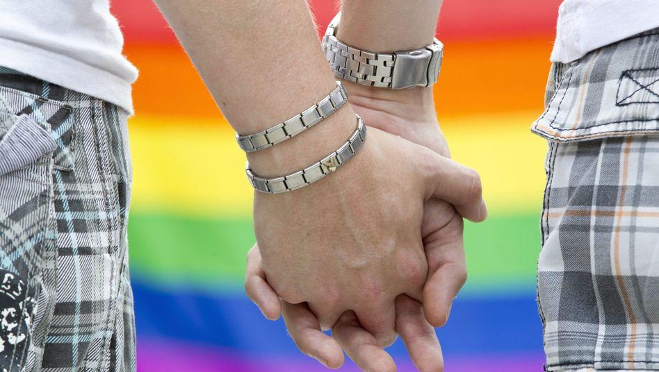 Schwule Männer auf dem Christopher Street Day (Archiv): Keine steuerliche Gleichstellung