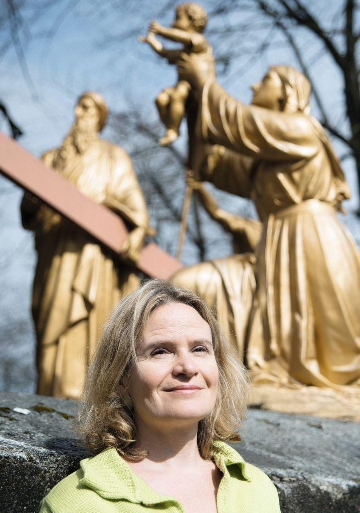 Redakteurin Bruhns in Lourdes