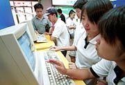 Access forbidden: Bei MP3 sowie ausländischen CDs und Videos schaut Chinas Internetcommunity demnächst in die Röhre
