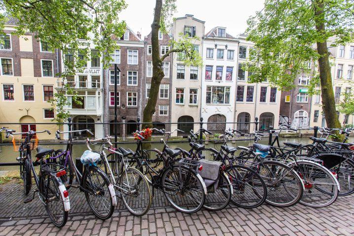 Kanal im Zentrum von Utrecht
