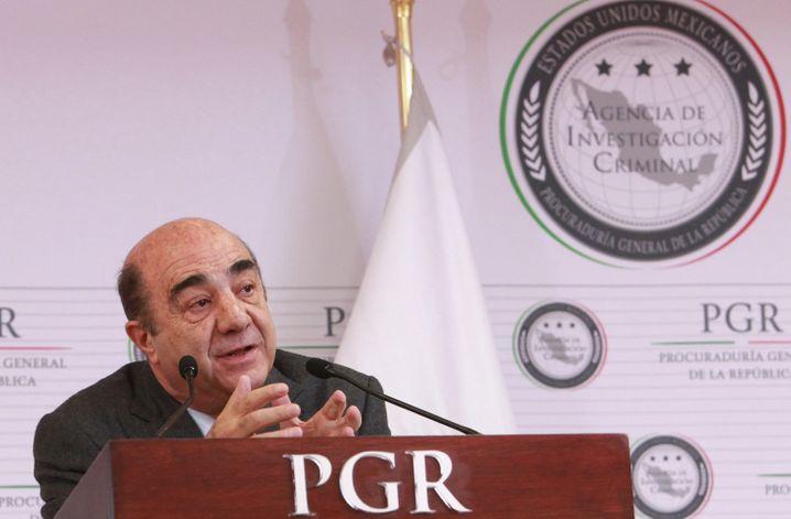 """Generalstaatsanwalt Murillo Karam: """"profunde und ernsthafte Ermittlung"""""""