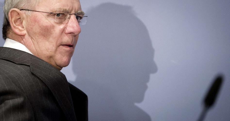 Finanzminister Schäuble: Kein Freibetrag für Banken