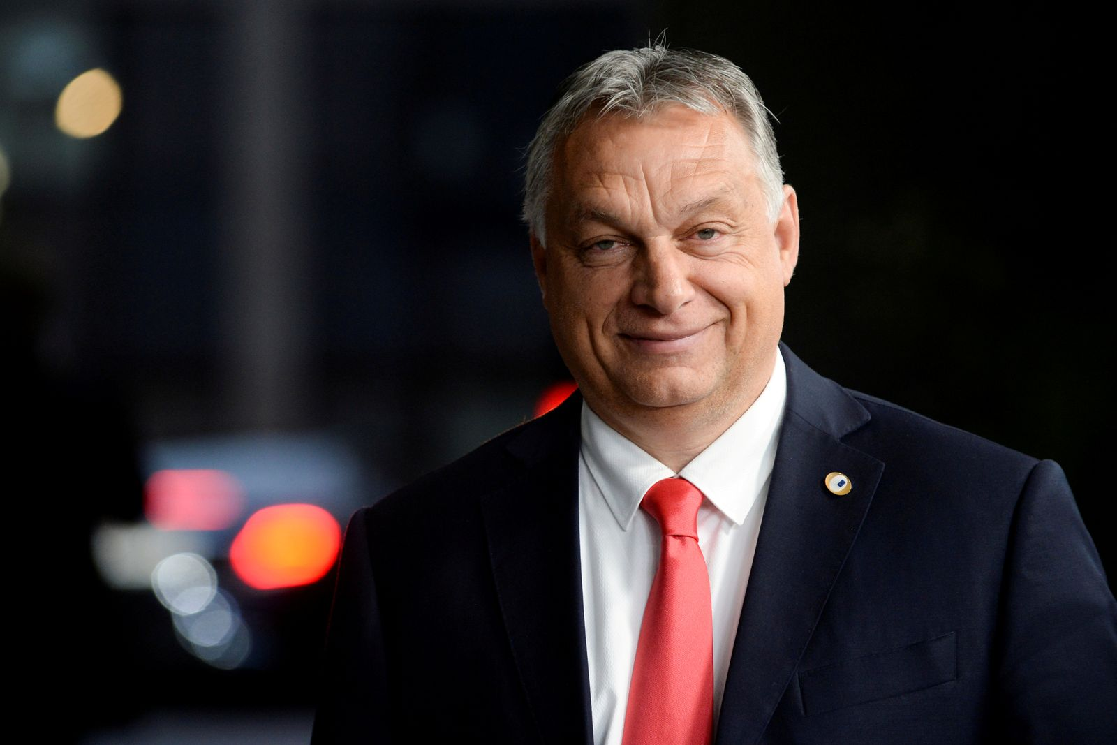 FILE PHOTO: Hungarian Prime Minister Viktor Orban departs from an EU summit in Brussels