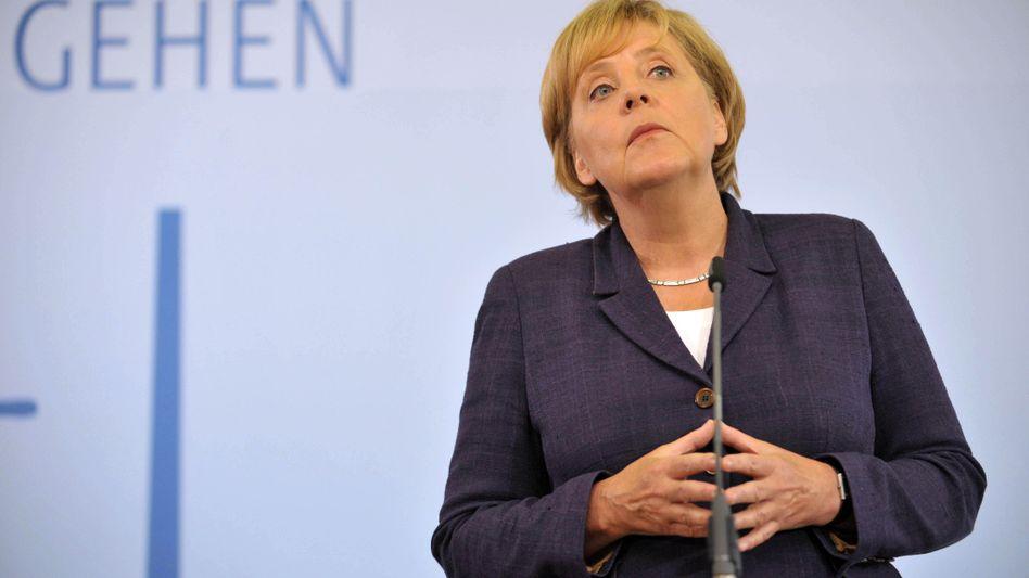 Bundeskanzlerin Merkel (CDU) auf Energie-Reise: Neun Bundesländer üben massive Kritik
