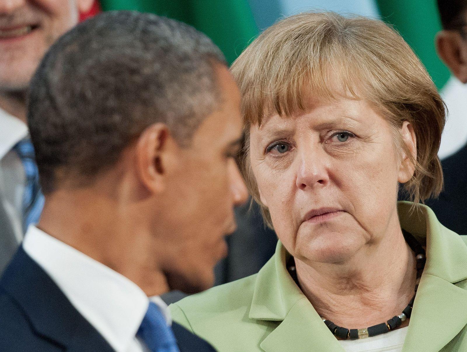 Merkel / Obama
