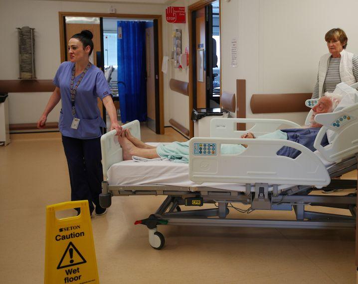 Krankenhaus in Großbritannien
