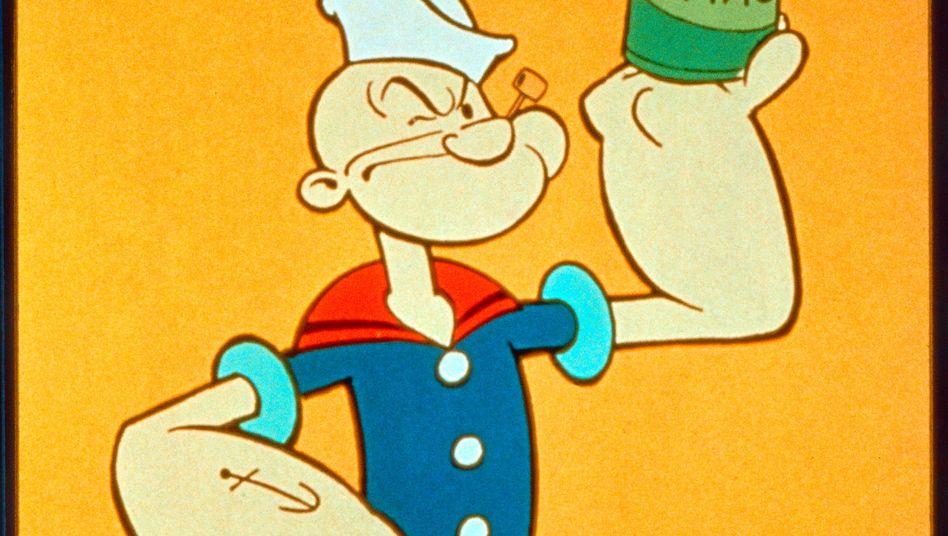 Comic-Held Popeye: Spinat als Wunderwaffe