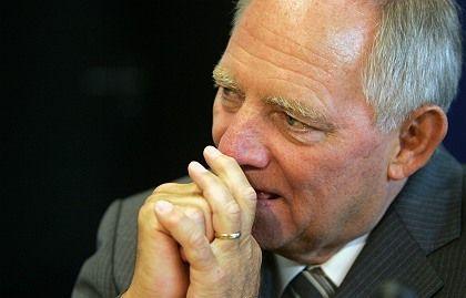 German Interior Minister Wolfgang Schäuble.