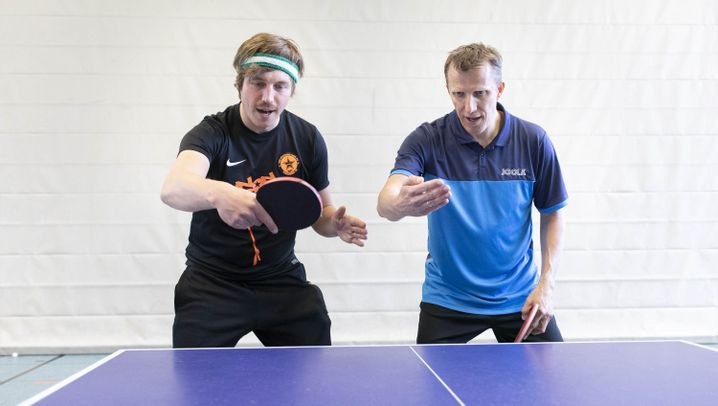 Amateur trifft Weltmeister: Tischtennis-Legende Jörg Roßkopf: Zeig's dem Amateur