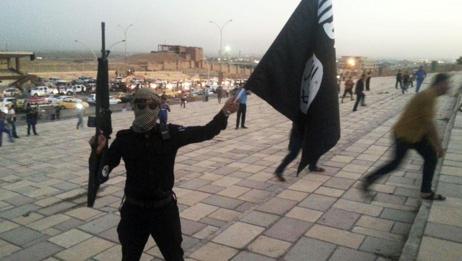 IS-Kämpfer in Mossul (Archiv): Vorbereitung auf die Verteidigung der Stadt
