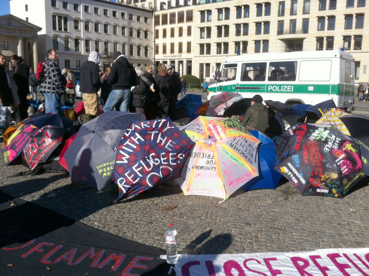 Flüchtlinge / Berlin