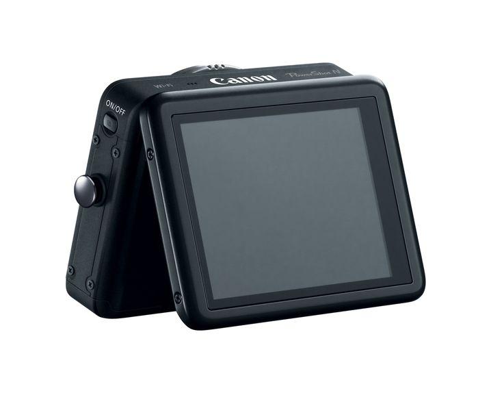 Canon Powershot N: Kleine Kamera mit Touchscreen zum Klappen