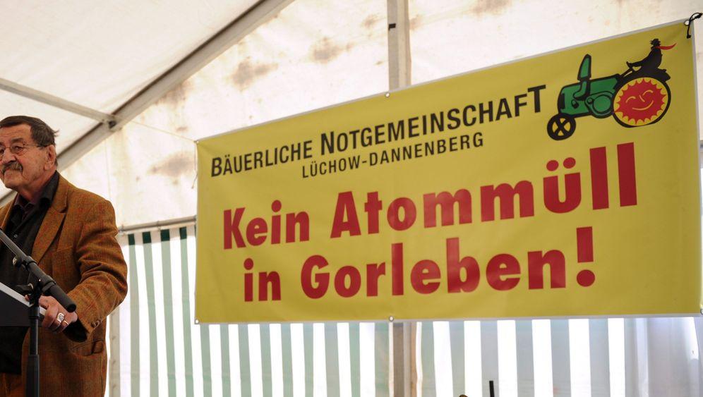 Protestlesung: Grass dampft gegen Atomkraft