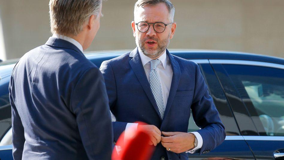 Bewirbt sich mit Parteikollegin Christina Kampmann auf die Parteiführung: Außenamts-Staatschef Michael Roth