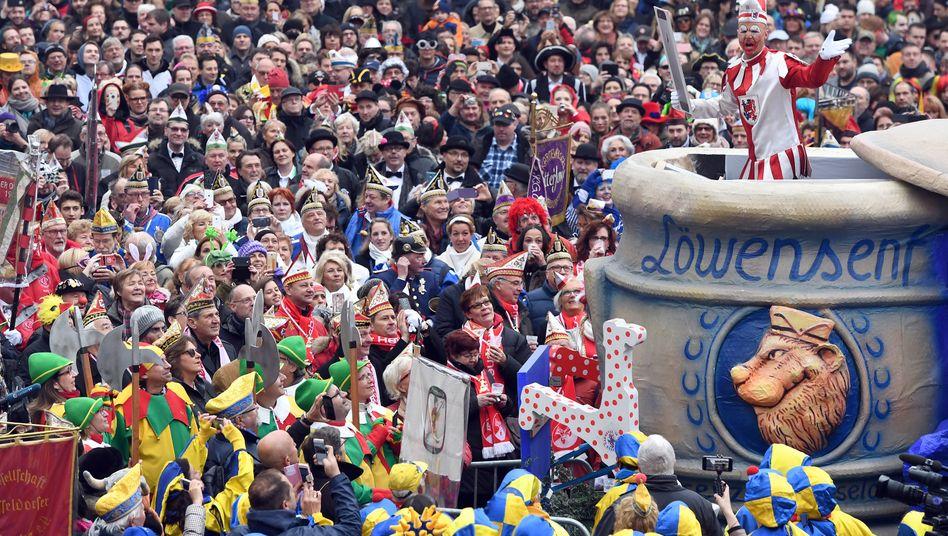 Karneval in Düsseldorf (Archivbild)