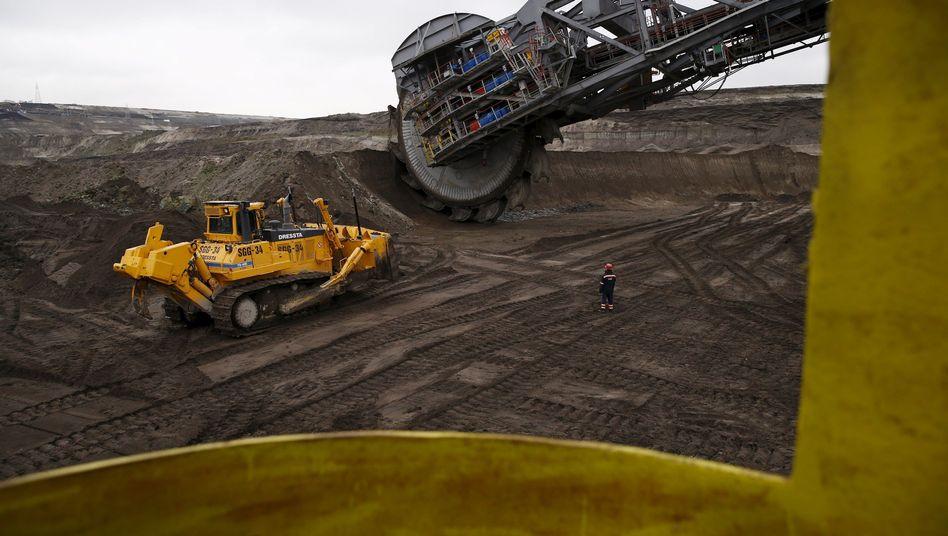 Kohlemine in Belchatow, das größte Abbaugebiet Polens: Fragile Bündnisse