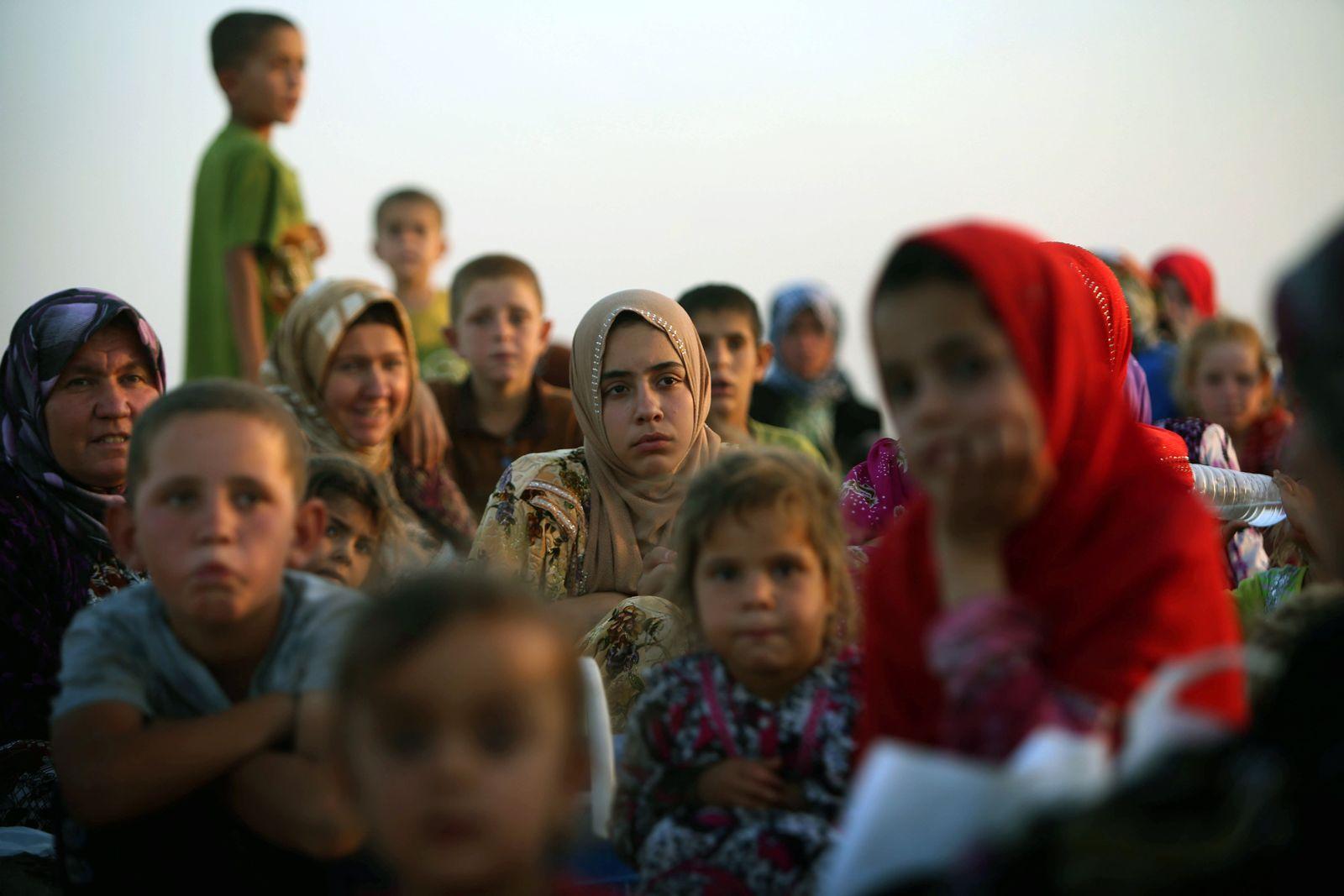 Irak Flüchtlinge
