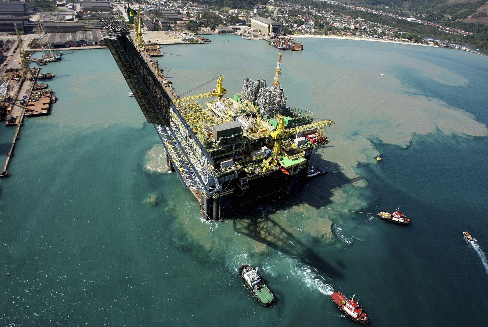 Öl / Teifsee / Brasilien / Santos