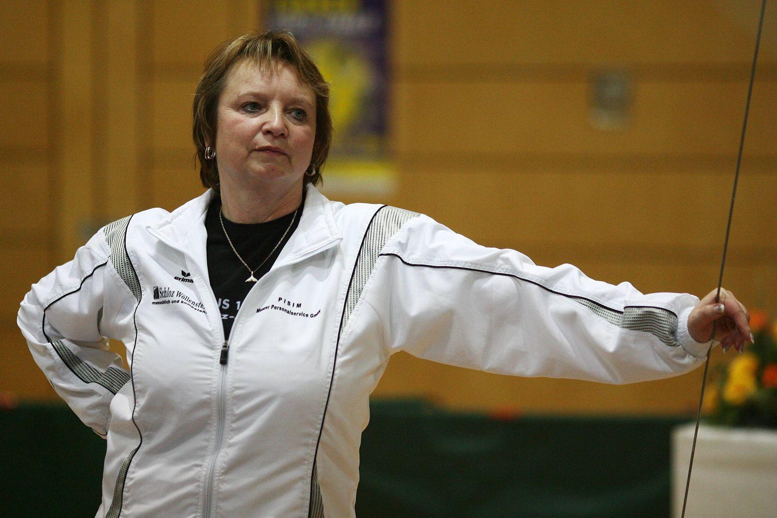 Trainerin Gabi Frehse (TuS Chemnitz Altendorf)